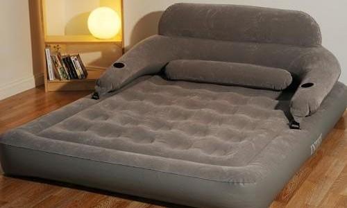 Matelas gonflable lectrique confort et pratique - Matelas gonflable confort ...