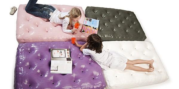 Idée cadeau : un matelas gonflable pour votre enfant !
