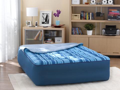 Peut-on avoir un matelas gonflable comme lit permanent ?